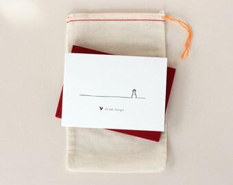 Love from Fargo Notecard Set