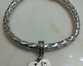 Silver Braided Bracelet - Choose your Favorite