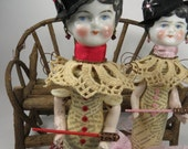"Assemblage Angel ""O"" Assemblage Art Doll,  Red Assemblage Doll"