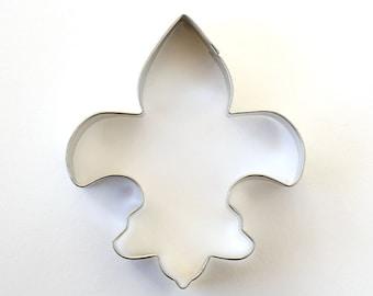 Fleur de Lis Cookie Cutter, Mardi Gras Cookie Cutter, Boy Scout Cookie Cutter, French Cookie Cutter