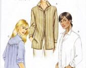 Vogue 7700 Uncut Sewing Pattern Misses 18, 20, 22 Shirt