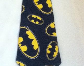 Men Handmade Batman Tie