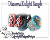 Diamond Delight Bangle - Beading Pattern Tutorial
