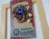Pirate's Cache Brooch or Cravat Pin