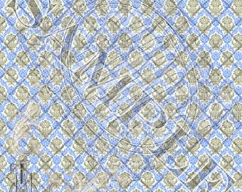 Victorian Wallpaper Printable Scrapbook Pages