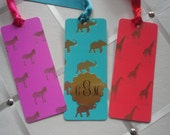 Safari Gold Foil Bookmarks