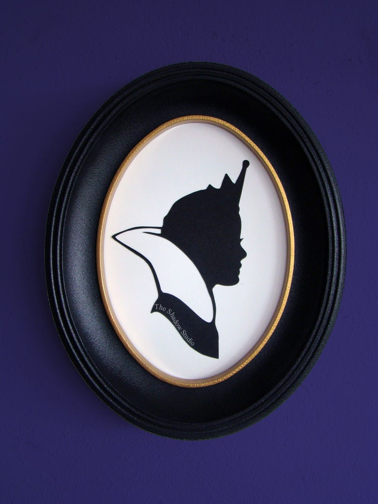 The Evil Queen From Snow White Hand Cut Paper By