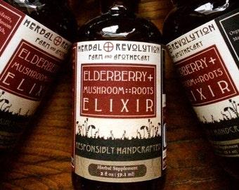 Elderberry Plus Elixir | Syrup | Wellness | Health