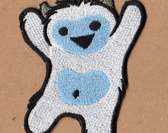 Too Cute Yeti Patch