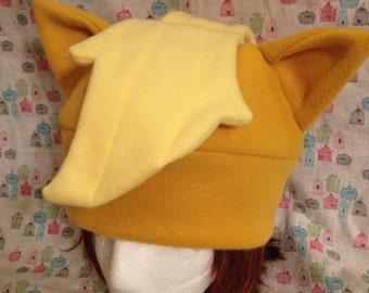 Applejack from My Little Pony: Friendship is Magic Inspired Fleece Hat Handmade