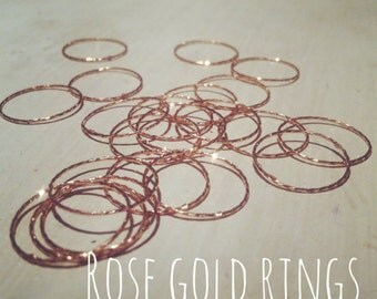 Rose Gold Knuckle Ring