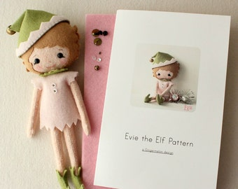 Evie the Elf Pattern Kit