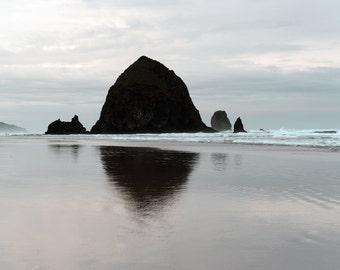 Haystack Rock Cannon Beach Oregon Coast Landscape