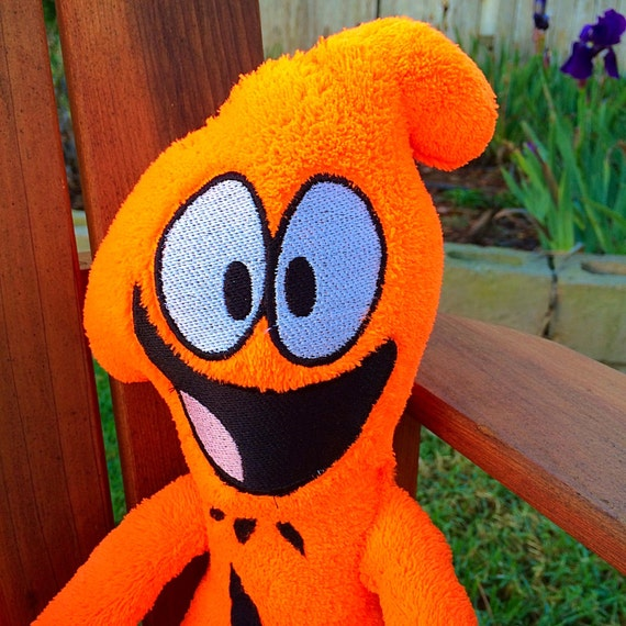 Wander over Yonder inspired Plush Doll Wander by LittleFruits