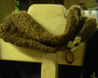 beautiful handmade alpaca cowl.