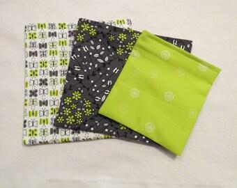 3 Bag Set Reusable Snack Sandwich Bags