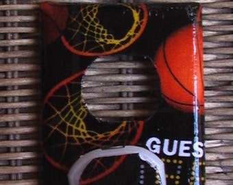 Basketball Outlet Cover Plate with Child Safety Covers Switch Plate covers to match in shop