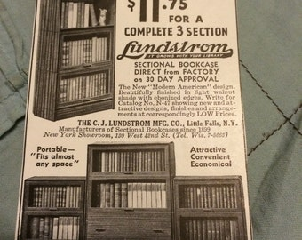 C.J. Lundstrom MFG Co. Little Falls New York circa 1937.