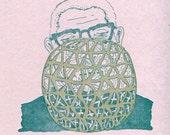 Buckminster Fuller Greeting Card Science Valentine