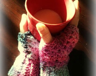 Fingerless Gloves  -Chilly Lace-