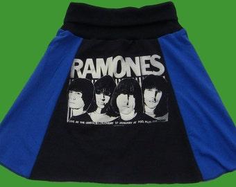 Eco-Friendly Ramones Skirt Womens Size L/XL