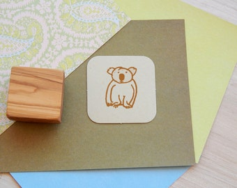 Koala Bear Olive Wood Stamp