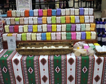 Handmade Goat Milk Soap My Favorite Assortment,  free ship within the US.