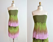 SALE / authentic MISSONI tiered knit dress
