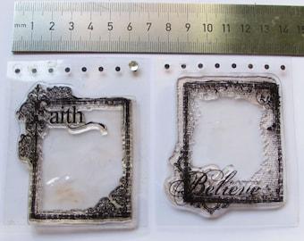 Mini frame stamps