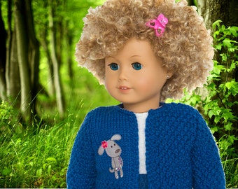 Knitting Pattern - fits American Girl Dolls - 18 inch Dolls, Doll