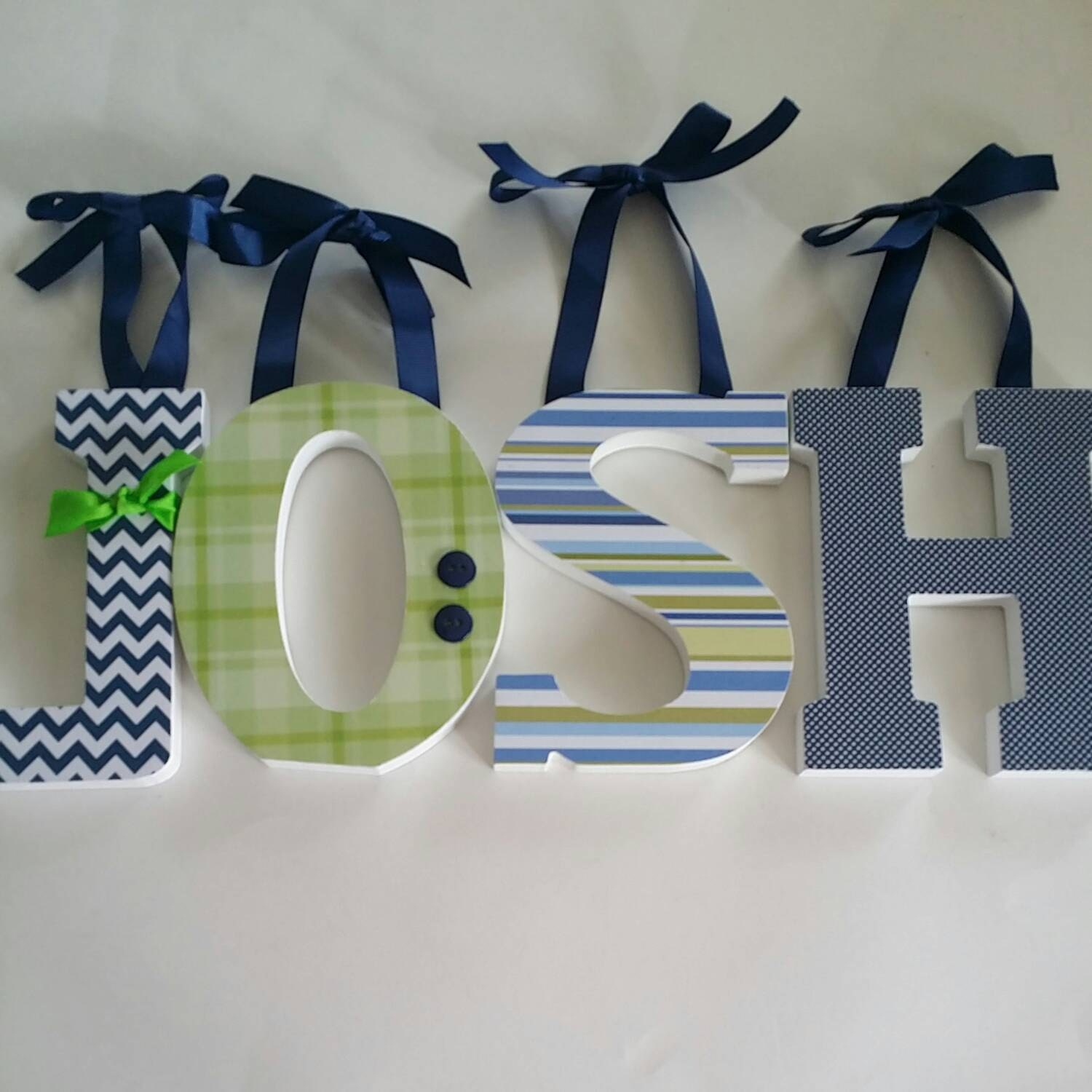 wooden wall letters baby boy nursery decor navy blue and With navy blue wall letters