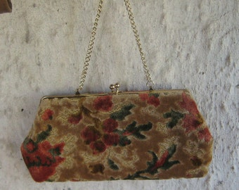 Perfect for the Fall , Great Hand Bag Carpet flower floral