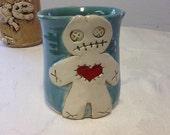 Ginger Dead Mug - Teal