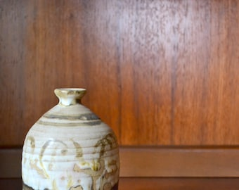 vintage mid-century studio pottery vase