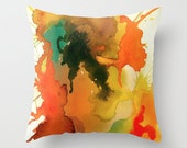 Neon Orange Primavera- Cushion Cover