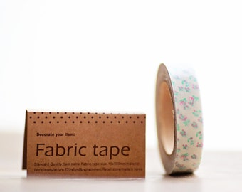Fabric Tape SWEET FLORAL 16 yards