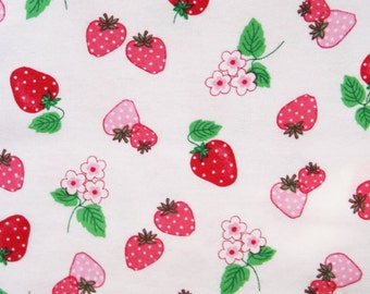 Strawberry Fields Forever Flannel Pillowcase
