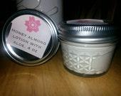 Honey Almond Lotion with Aloe, 4 oz jar