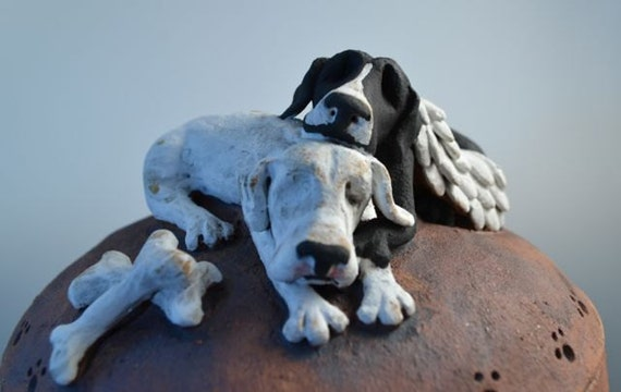 Custom dog or pet urns- urns for two pets- any breed- dogs,cats, rabbits or small animal-urn for multiple pets-dog urn for two dogs