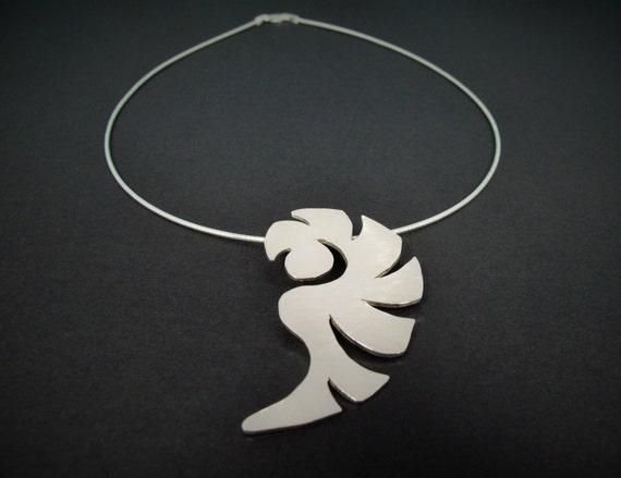 Silver Nautilus Necklace