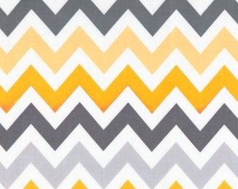 Robert Kaufman Fabric, Large Chevron in Retro, Remix Collection, 1 Yard Total