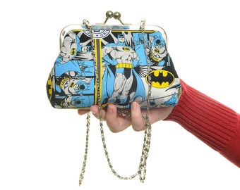 Batman DC Evening Bag and Clutch In One