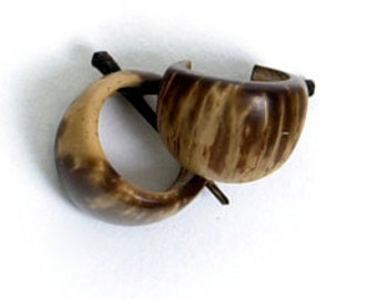 Coconut Simple Hoops Sandy 1