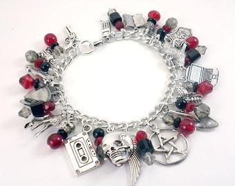 Supernatural Inspired Charm Bracelet