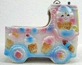 Fabulous Retro Vintage Baby Nursery Rubens Los Angeles Japan Planter Ice Cream Truck Music Box Baby Shower Gift Boy or Girl ATCTTEAM