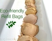 All Natural Mineral Foundation - Mineral Foundation Mineral Makeup - Large Foundation Refill Bag - Choose Your Shade