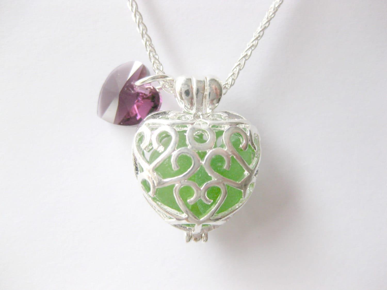 sea glass necklace sea glass jewelry glass jewelry