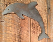 Wooden Dolphin - Indoor Beach Decoration -LARGE