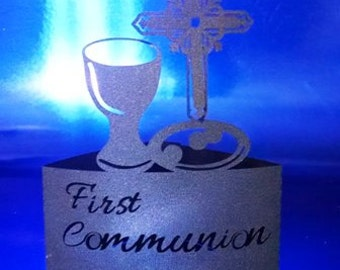 DIY First Communion stand up