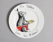 Mr Tibbles Side Plate